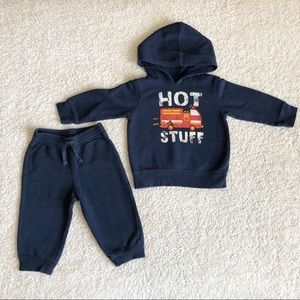 Jumping Beans Two piece joggers & Hoodie Outfit